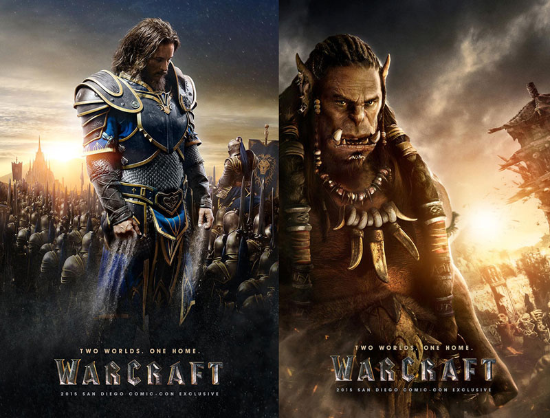 Warcraft Movie Posters